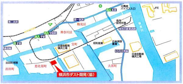 横浜市ダスト開発地図