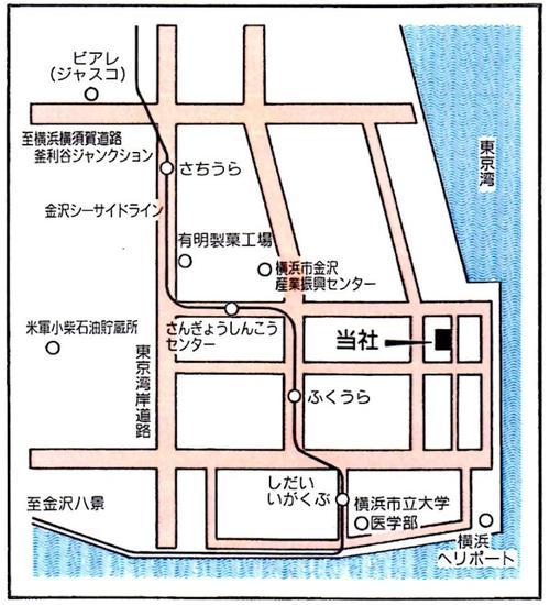 金沢支店地図